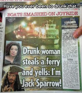 funny-drunk-woman-steals-ferry-Jack-Sparrow